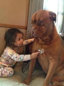Cute-Baby-Doctor-Checking-The-patcient-cute-moment